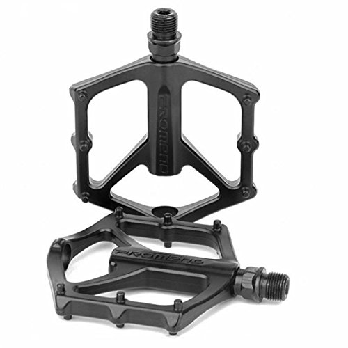 ODIER Mountain Bike Pedal Lightweight Aluminium Alloy Pedals for BMX Road MTB Bicycle (AL-10X10)