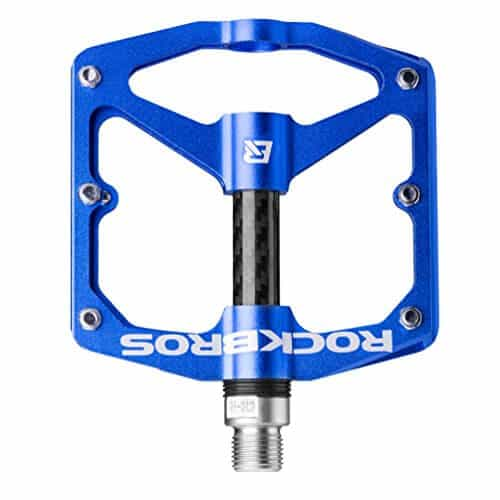 RockBros Bike Pedals 916 Lightweight Mountain Bicycle Cycling Pedals (Blue)