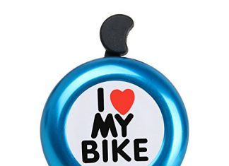 AD I Like My Bike Bell - Bicycle Bell - Loud Aluminum Bike Horn Ring Mini Bike Accessories for Adults Men Women Kids Girls Boys Bikes