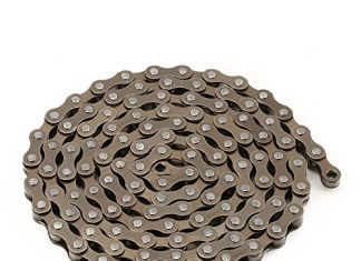 ZONKIE Single-Speed Bicycle Chain 116 Links