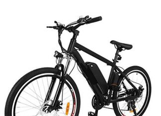 NEW IN 2018 Fast Electric Mountain Bicycle for Adults with Removable Lithium-ion Battery