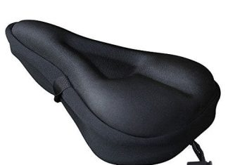 Zacro Gel Bike Seat Cover- BS031 Extra Soft Gel Bicycle Seat - Bike Saddle Cushion with Water&Dust Resistant