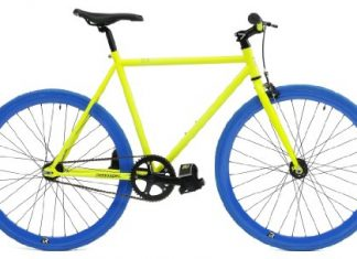 Retrospec Mantra Fixie Bicycle with Sealed Bearing Hubs