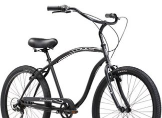 Firmstrong Chief Man Beach Cruiser Bicycle, 26-Inch