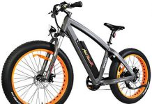 Addmotor MOTAN Electric Bicycles Mountain Fat Tire 26 Inch Power Removable 48V 10.4AH Lithium Battery M-560
