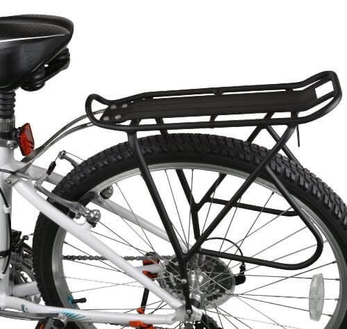 Ibera Bike Rack – Bicycle Touring Carrier Top & Side Loads, Height Adjustable for 26-29 Frames