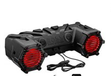 Motorcycle Speakers BOSS Audio ATVUTV Sound System, Bluetooth, Amplified, 12 Volt Application Friendly
