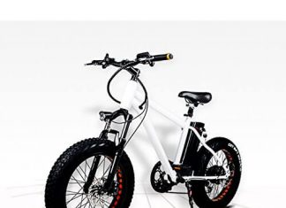 NAKTO 20 300W Fat Tire Electric Bicycles Snow Beach Bike Shimano 6 Speed Gear E-bike