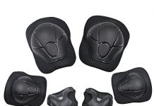Sports Protective Gear Safety Pad Safeguard (Knee Elbow Wrist) Support Pad Set Equipment