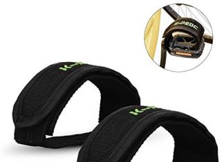 ZOSEN Bicycle Pedal Straps for Fixed Gear Mountain Bike Nylon Pedal Straps for Beginners