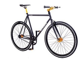 ACEGER Single-Speed Fixed Gear Hollowed Rim Urban Commuter Bike