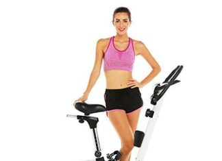 ANCHEER Upright Bike, Magnetic Exercise Bike