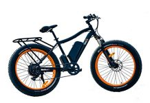 "SafeCastle Fat Tire Electric Bike Breeze Beach Snow Bicycle 26"" 4.0 inch Fat Tire ebike 48V Electric Mountain Bicycle Shimano 7 Speeds Lithium Battery-Fat Wheel for Smooth Ride Everywhere"