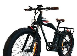 Addmotor MOTAN 1000W Electric Bicycle 14.5Ah Lithium Battery Electric Bike 26 Inch Fat Tire Ebike