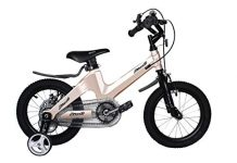 NiceC BMX Kids Bike with Dual Disc Brake for Boy and Girl 14-16 inch Training Wheels
