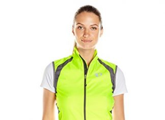 Pearl iZUMi Women's Elite Barrier Vest, Screaming Yellow/Smoked Pearl, Small