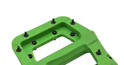 FOOKER MTB Bike Pedal Nylon 3 Bearing Composite 9/31 Mountain Bike Pedals High-Strength Non-Slip Bicycle Pedals Surface for Road BMX MTB Fixie Bikesflat Bike