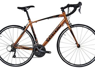 Tommaso Imola Endurance Aluminum Road Bike, Shimano Claris R2000, 24 Speeds - Burnt Orange - XL