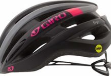 Giro Saga MIPS Cycling Helmet - Women's Matte Black/Pink Race Medium