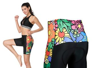 3D Padded Bike Underwear Shorts - Women's Bicycle Cycling Shorts