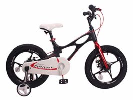 Space Shuttle Black 14 inch Magnesium Kid's Bicycle