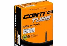 Continental 60mm Presta Valve Tube, Black, 700 x 20-25cc