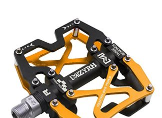 Mzyrh Mountain Bike Pedals Ultra Strong Colorful CNC Machined 916 Cycling