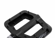 FOOKER MTB Pedals Mountain Bike Pedals 3 Bearing Non-Slip Lightweight Nylon Fiber Bicycle Platform Pedals for BMX MTB 9/16""