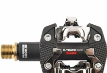Look Cycle X-Track Race Carbon TI Pedals Black, One Size