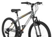 24 Roadmaster Granite Peak Boys Mountain Bike (24 Inches (Wheel Diameter), Black) (Black)