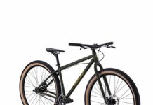 "Redline Bikes Monocog 29 Single Speed Mountain Bike 17"" Frame, Green, 17""/Medium"