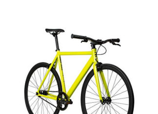 Best 6KU Aluminum Fixed Gear Single-Speed Fixie Urban Track Bike