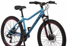 Schwinn High Timber Mountain Bike, ALX, 26-Inch Wheels, Blue