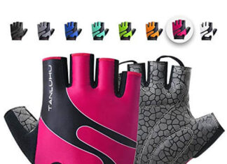 Tanluhu Cycling Gloves Mountain Bike Gloves Half Finger
