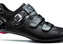 Genius 7 Air Shadow Carbon Road Cycling Shoes (45.0, Shadow Black)