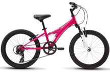 "Diamondback Bicycles Tess 20 Youth Girls 20"" Wheel Mountain Bike, Pink"