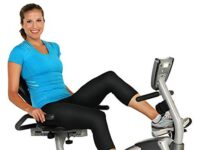 EXERPEUTIC 900XL Recumbent Exercise Bike with Pulse | 300 lbs. Weight Capacity