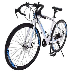 26-inch 700c Road Bike,21 Speed high Carbon Steel Frame Road Bicy